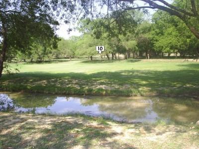 Live Oak City Park, Main course, Hole 10 Midrange approach