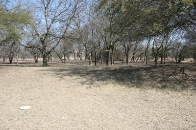 Live Oak City Park, Main course, Hole 10 Short approach