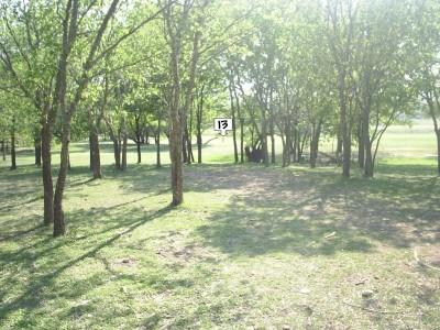 Live Oak City Park, Main course, Hole 13 Long approach