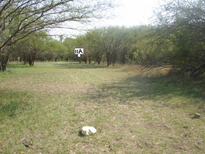 Live Oak City Park, Main course, Hole 11a Short tee pad