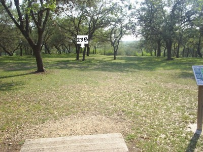 Live Oak City Park, Main course, Hole 23b Tee pad