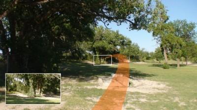 Mackenzie Park, Main course, Hole 13 Short tee pad