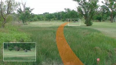 Mackenzie Park, Main course, Hole 17 Short tee pad