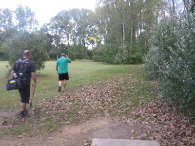 Vienna Park, Main course, Hole 11 Tee pad