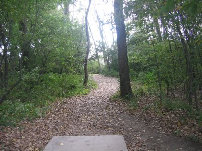 Vienna Park, Main course, Hole 5 Tee pad