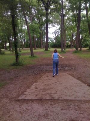 Alex Clark Memorial, Main course, Hole 5 Tee pad