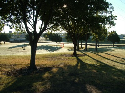 DeBusk Park, Main course, Hole 6 Tee pad