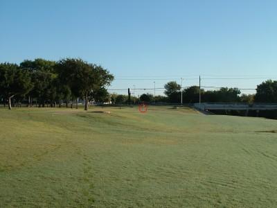 DeBusk Park, Main course, Hole 7 Tee pad