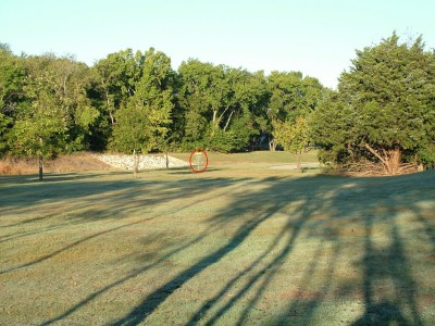 DeBusk Park, Main course, Hole 4 Tee pad