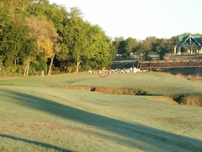 DeBusk Park, Main course, Hole 2 Tee pad