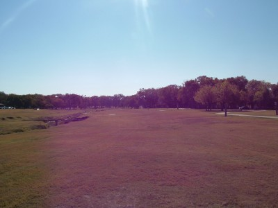 Paschall Park, Main course, Hole 17 Short tee pad