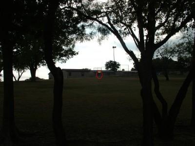 Porter Park, Main course, Hole 4 Tee pad