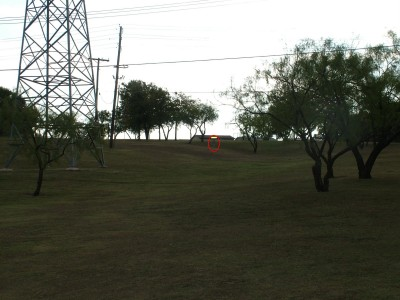 Porter Park, Main course, Hole 3 Tee pad