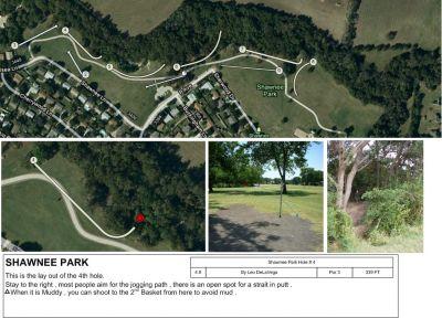 Shawnee Park, Main course, Hole 4 Tee pad