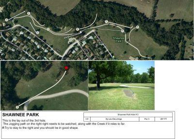 Shawnee Park, Main course, Hole 3
