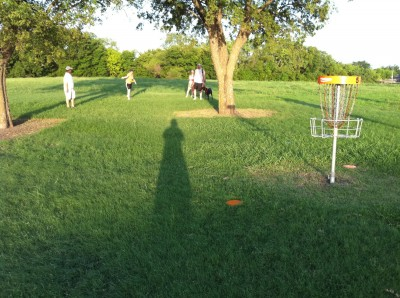 UT Dallas Alumni, Main course, Hole 5 Reverse (back up the fairway)