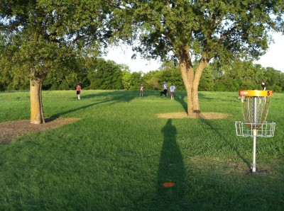 UT Dallas Alumni, Main course, Hole 5 Reverse (back up the fairway)