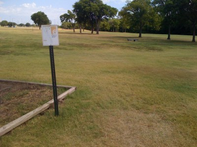 UT Dallas Alumni, Main course, Hole 6 Tee pad