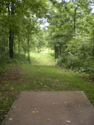 Meyer Broadway Park, Original course, Hole 17 Long tee pad