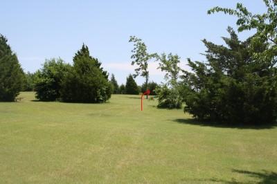 Harry Myers, Main course, Hole 17 Long tee pad