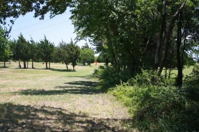 Harry Myers, Main course, Hole 16 Long tee pad