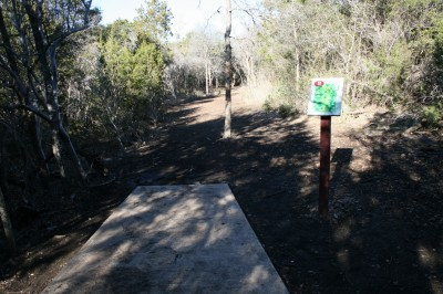 McClain Park, Main course, Hole 8 Tee pad