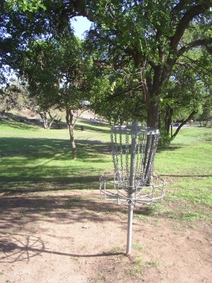 Texas State Campus West Park, Main course, Hole 15 Reverse (back up the fairway)