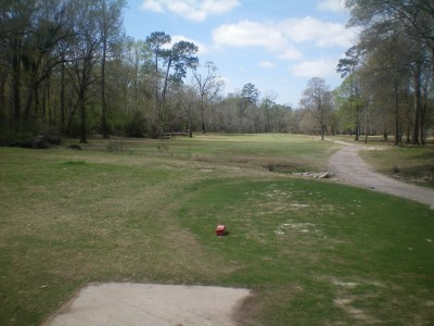 Spring Valley, Main course, Hole 19 Tee pad