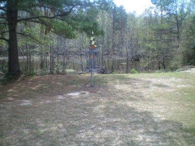 Spring Valley, Main course, Hole 18 Putt