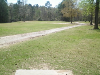 Spring Valley, Main course, Hole 18 Tee pad