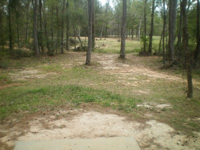 Spring Valley, Main course, Hole 2 Tee pad
