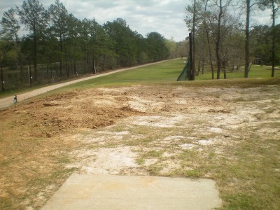 Spring Valley, Main course, Hole 1 Tee pad