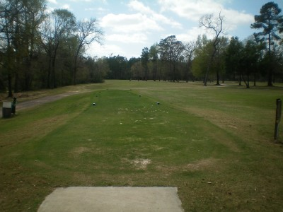 Spring Valley, Main course, Hole 16 Tee pad