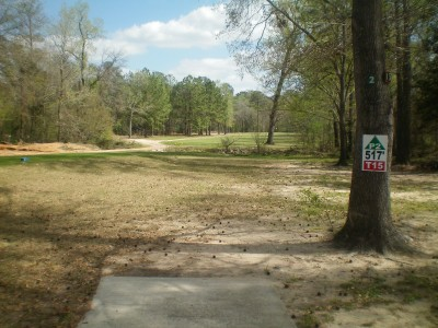 Spring Valley, Main course, Hole 15 Tee pad