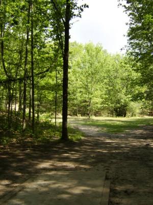 Hickory Hills, Main course, Hole 13 Tee pad