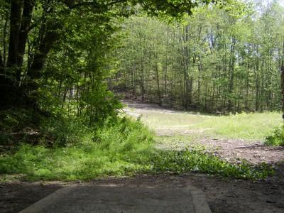Hickory Hills, Main course, Hole 16 Tee pad