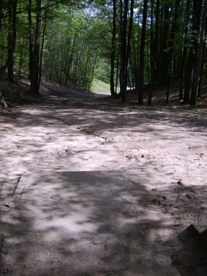 Hickory Hills, Main course, Hole 8 Tee pad