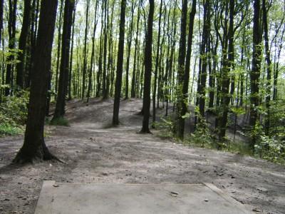 Hickory Hills, Main course, Hole 18 Tee pad