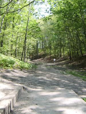 Hickory Hills, Main course, Hole 17 Tee pad