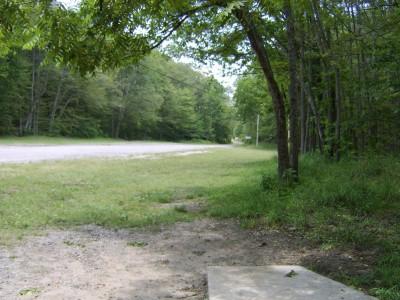 Hickory Hills, Main course, Hole 22 Tee pad