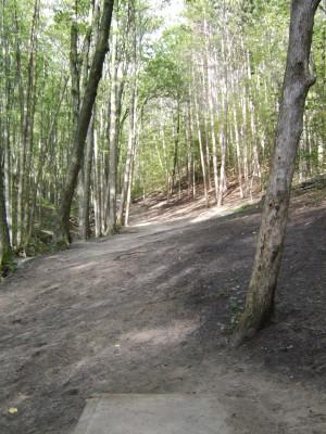 Hickory Hills, Main course, Hole 4 Tee pad