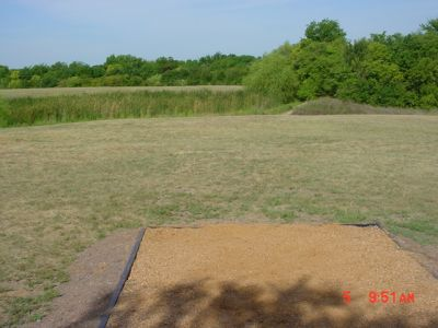 Bill Allen Memorial Park, Main course, Hole 6 Tee pad