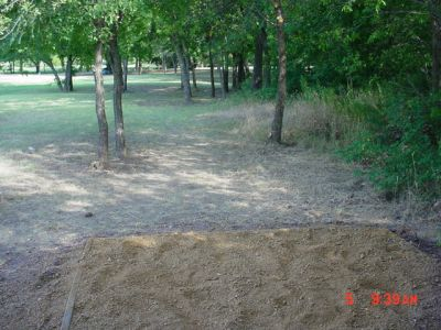Bill Allen Memorial Park, Main course, Hole 2 Tee pad