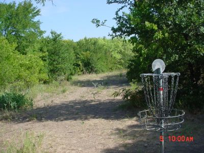 Bill Allen Memorial Park, Main course, Hole 9 Reverse (back up the fairway)