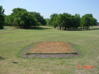 Bill Allen Memorial Park, Main course, Hole 15 Tee pad