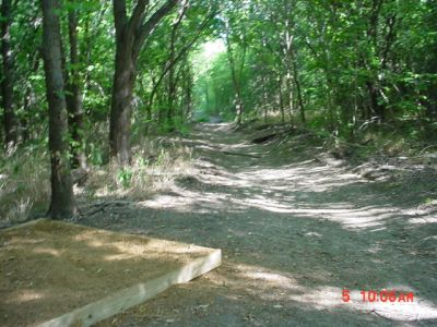 Bill Allen Memorial Park, Main course, Hole 11 Tee pad