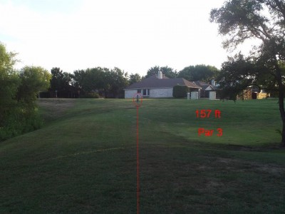 Bill Allen Memorial Park, Main course, Hole 7 Tee pad