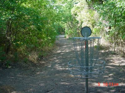Bill Allen Memorial Park, Main course, Hole 11 Reverse (back up the fairway)