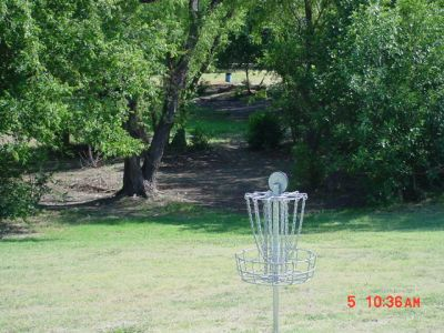 Bill Allen Memorial Park, Main course, Hole 18 Reverse (back up the fairway)