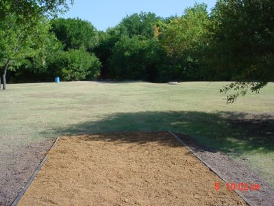 Bill Allen Memorial Park, Main course, Hole 10 Tee pad